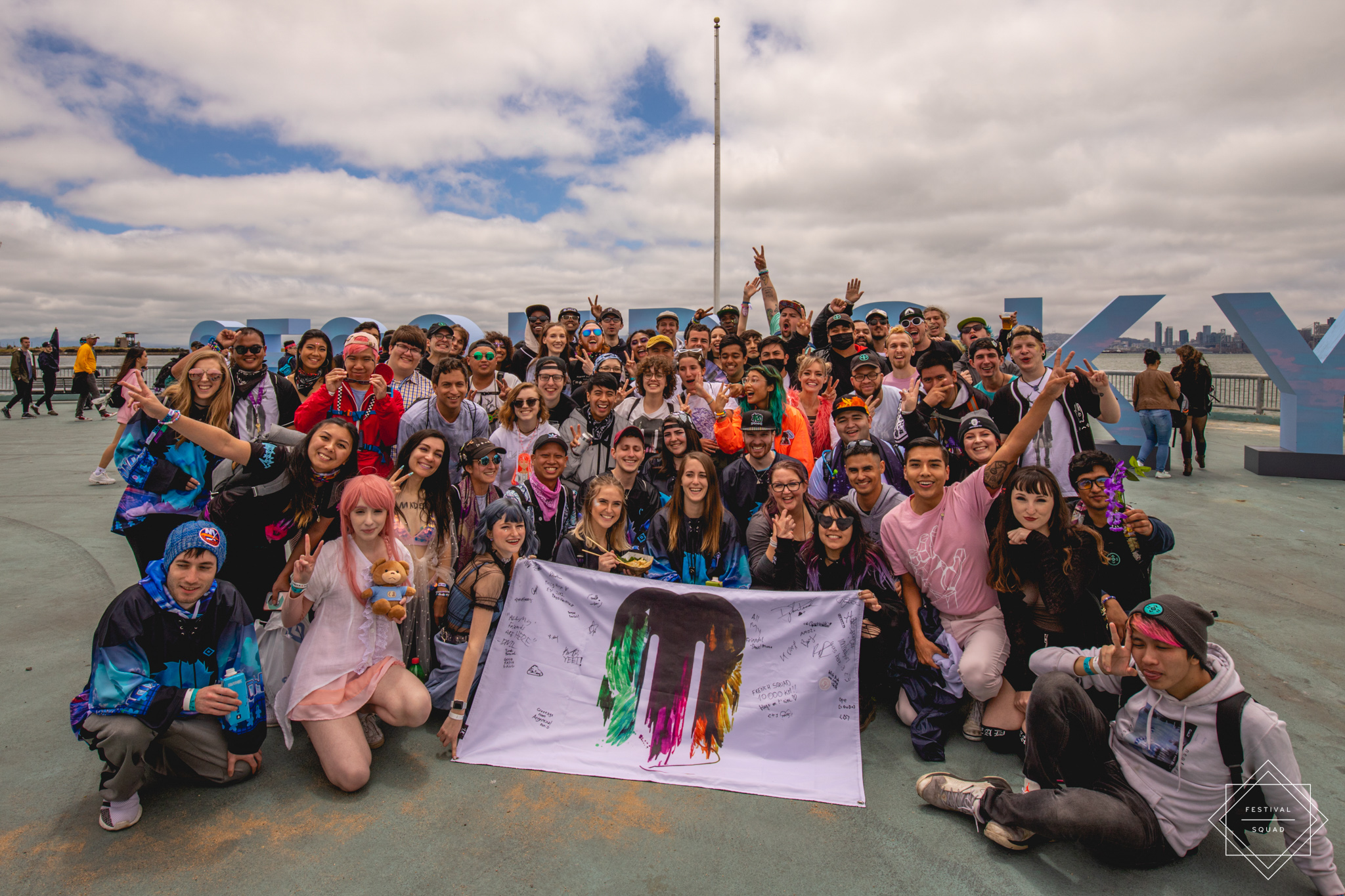 Group photo at Second Sky 2019